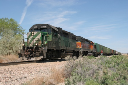 BNSF2286-MAY06-FRANNIE,WY